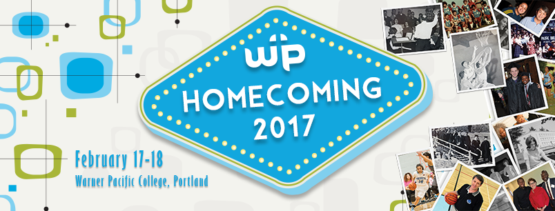2017 Homecoming event banner