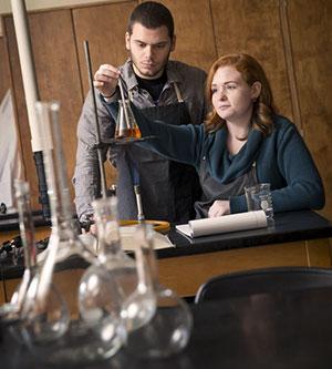 Warner Pacific College science classroom