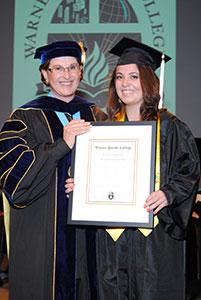 Warner Pacific Graduation May 2014 AF Gray Award