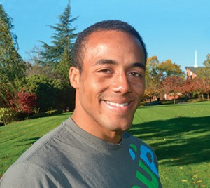 Warner Pacific Wrestler Jawayne.