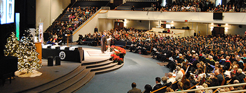 Warner Pacific Winter Commencement