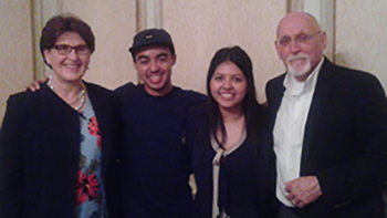 Warner Pacific Social Entrepreneurship winners with Drs. Cook and Martin 2015