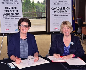 WPC and MHCC MOU signing