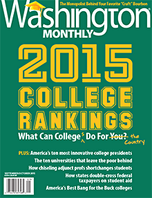 WA Monthly College guide 2015