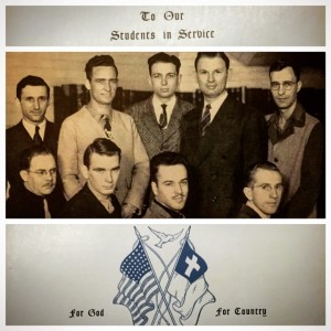 Warner Pacific vets from 1940s