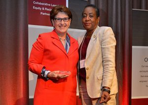 Warner Pacific presented with award from Campus Compact