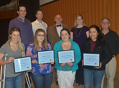Science awards from Honors Chapel