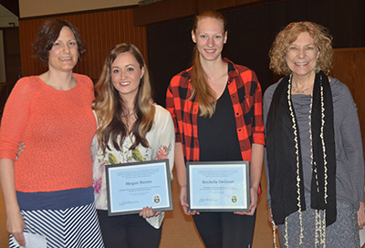 Social Science awards from Honors Chapel