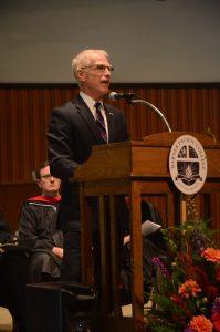 Warner Pacific Convocation Keynote Speaker Dr. Robinson 2016