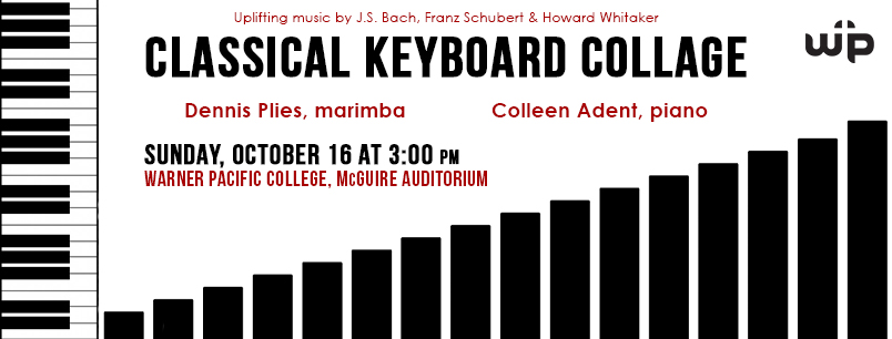 Classical Keyboard Collage event at Warner Pacific