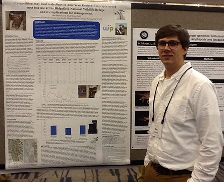 WPC Student Ben Durham at Murdock Conference 2016
