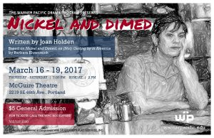 WP Spring Drama Production Nickel and Dimed poster image