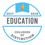 Colleges of Distinction - Education Award