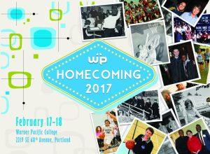 2017 Homecoming invitation