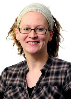 Warner Pacific professor Cassie Trentaz