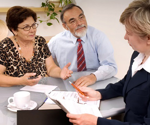 Planned Giving (Shutterstock) meeting with an attorney