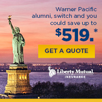 Liberty Mutual offer for Warner Pacific alumns