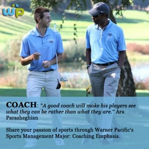 Warner Pacific Sports Management degrees