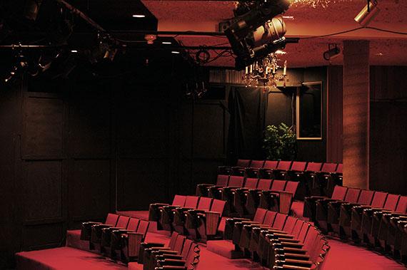 McGuire Theatre seating