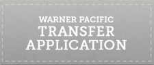 Warner Pacific Transfer student button