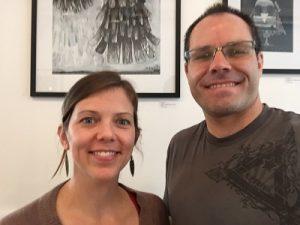 FYLC Professors Luke Goble and Amanda McDermott 2016