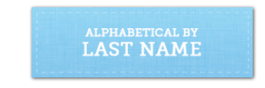 Alpha by last name button