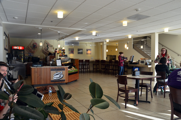 Warner Pacific coffee shop area