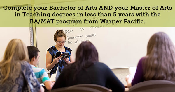 Warner Pacific MAT program