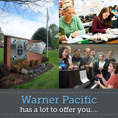 Warner Pacific offers a lot