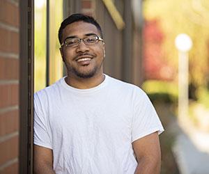 Warner Pacific student Jordan Shellmire