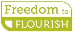 Freedom to Flourish LRAP logo