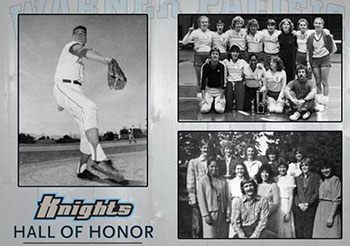 Warner Pacific Hall of Honor Athletics 2014