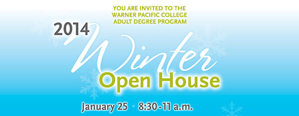 Warner Pacific Adult Degree Program open house