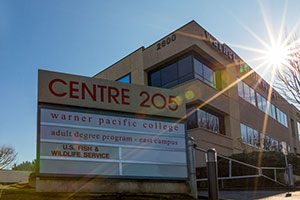 Warner Pacific Centre 205 campus