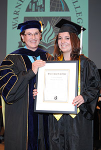 Warner Pacific Graduation May 2014 AF Gray Award