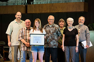 Warner Pacific Social Science award