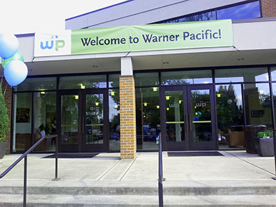 New Student registration at Warner Pacific