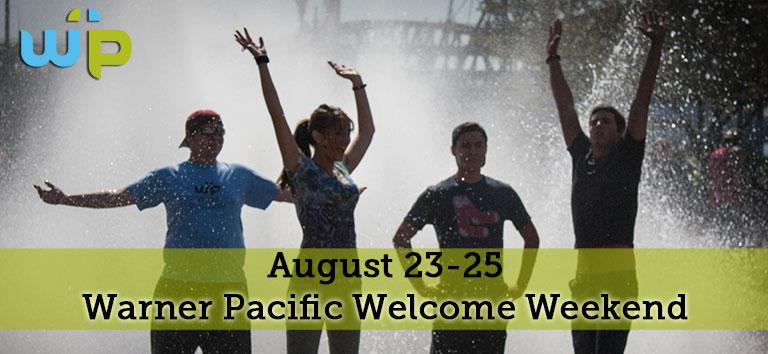 Warner Pacific Welcome Weekend 2014