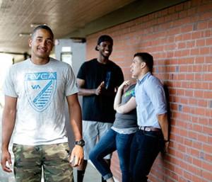 Students at Warner Pacific.