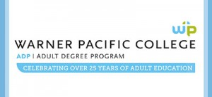 Warner Pacific Adult Degree Program 25th Ann. logo