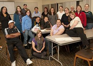 WPC Adult Degree Program cohort group photo