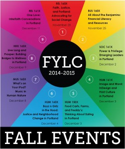 2014 Fall FYLC Events Square