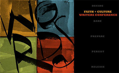 Faith and Culture Writers Conference logo 2014.