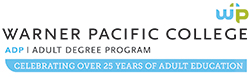 Warner Pacific Adult Degree Program 25th Anniversary logo