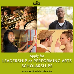 Warner Pacific Scholarship Competitions