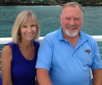 Warner Pacific Distinguished Alums Jim and Terri Teague 2015