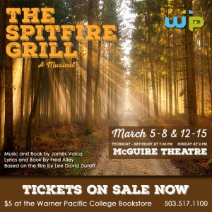 The Spitfire Grill, WPC Drama Program's Spring production