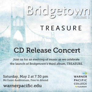 Warner Pacific's Bridgetown releases third CD