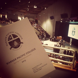 Graduation 2015 for Warner Pacific