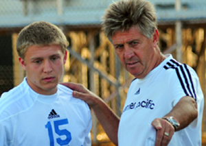 Warner Pacific retiring soccer coach Bernie Fagan